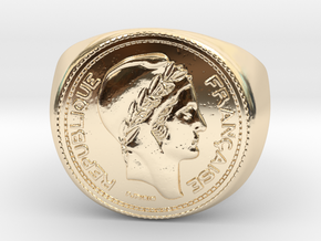 10 Francs 1949  in 14K Yellow Gold