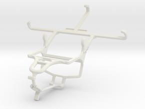 Controller mount for PS4 & Lenovo S850 in White Natural Versatile Plastic