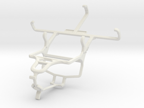 Controller mount for PS4 & LG G2 Lite in White Natural Versatile Plastic