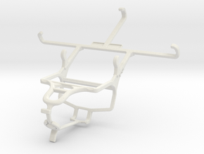 Controller mount for PS4 & LG G3 Dual-LTE in White Natural Versatile Plastic