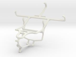 Controller mount for PS4 & LG L Prime in White Natural Versatile Plastic
