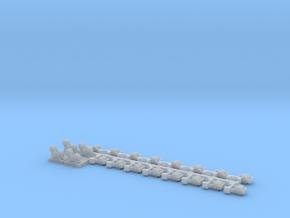 Schijfjes voor Nederlandse armseinpalen in 1:43.5 in Frosted Extreme Detail
