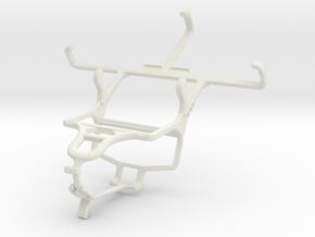 Controller mount for PS4 & Motorola Moto E (2nd ge in White Natural Versatile Plastic