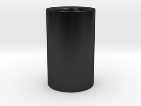 MOKA CUP in Matte Black Porcelain