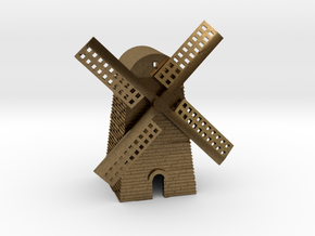 Windmill in Natural Bronze