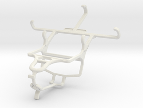 Controller mount for PS4 & Plum Sync 4.0b in White Natural Versatile Plastic