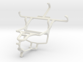 Controller mount for PS4 & Plum Trigger Plus III in White Natural Versatile Plastic