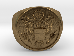 Great Seal of the US in Natural Bronze