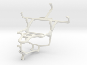 Controller mount for PS4 & Samsung Galaxy Star 2 in White Natural Versatile Plastic