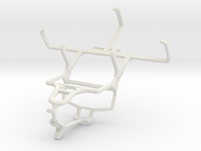 Controller mount for PS4 & Sonim Land Rover A8 in White Natural Versatile Plastic