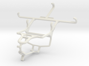 Controller mount for PS4 & Unnecto Air 4.5 in White Natural Versatile Plastic