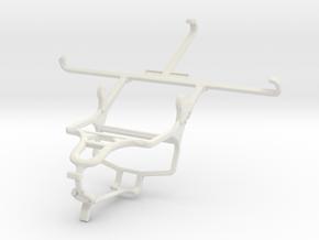 Controller mount for PS4 & vivo X5Max Platinum Edi in White Natural Versatile Plastic