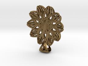 Neclace in Natural Bronze