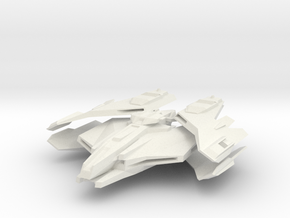 Imperial Class Destroyer in White Natural Versatile Plastic
