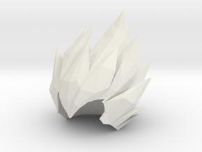 Vegeta Hair MINIMATE Dragon Ball Z in White Natural Versatile Plastic