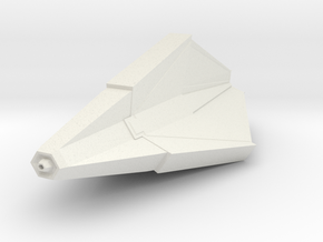 Tholian Webspinner in White Natural Versatile Plastic
