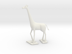 Giraffe...10% to unprivileged child in White Natural Versatile Plastic