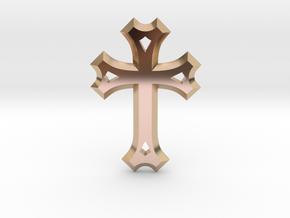 Syriac Cross in 14k Rose Gold