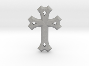 Syriac Cross in Aluminum