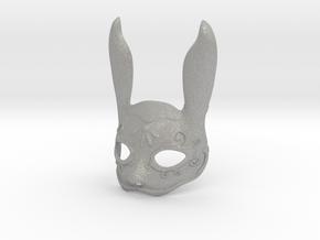 Splicer Mask Rabbit (Mens Size) in Aluminum