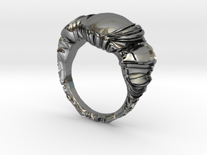 LavaLUX in Fine Detail Polished Silver