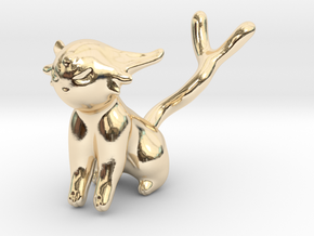 Espeon in 14k Gold Plated Brass