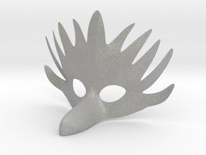 Splicer Mask Bird (Mens Size) in Aluminum