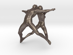Hooped Joy Figures 70mm in Stainless Steel