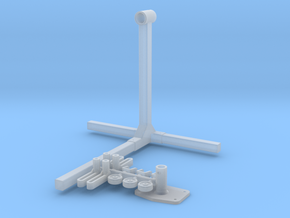 1/18 Engine Stand in Smooth Fine Detail Plastic