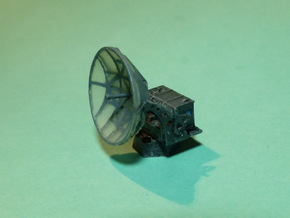 Würzburg Riese, German Radar 1/285 in Smooth Fine Detail Plastic