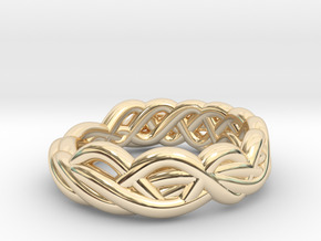 Ring 16.9mm in 14k Gold Plated
