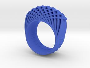 dubbelring maat 17.5 in Blue Processed Versatile Plastic