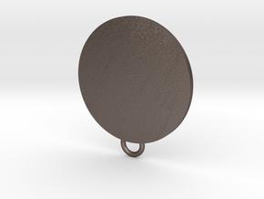 Avengers Fan Keychain in Polished Bronzed Silver Steel
