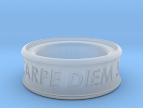 Carpe Diem Ring 5 Inch Diameter in Smooth Fine Detail Plastic