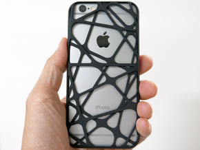 iPhone 6 / 6S Case_Cross in Black Strong & Flexible