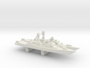 Neustrashimyy-class frigate x 2, 1/3000 in White Natural Versatile Plastic