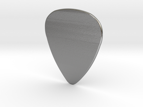 Basic 1mm Guitar Plectrum in Natural Silver
