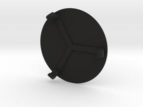 Rear Cover for E9X Gauge Pod in Black Strong & Flexible
