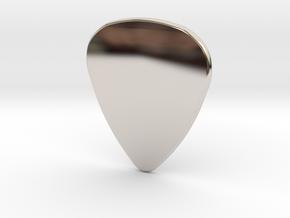 Basic 2mm Plectrum in Platinum