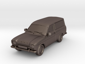 1:87 Escort mk1 van v1 hollow in Polished Bronzed Silver Steel