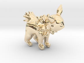Jolteon in 14k Gold Plated Brass