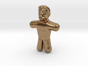 Trump Voodoo Doll - Small in Natural Brass