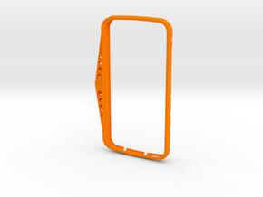 ALCATEL ONETOUCH DROID PHONE HOLDER -4 in Orange Processed Versatile Plastic