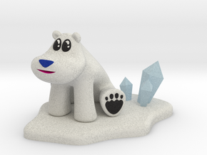 Polar Bear from Crash Bandicoot in Full Color Sandstone