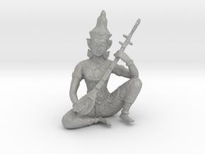 Indian God in Aluminum