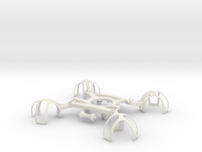 Drone Life Preserver Delivery in White Natural Versatile Plastic