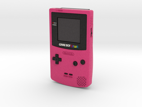 1:6 Nintendo Game Boy Color (Berry) in Full Color Sandstone