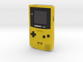 1:6 Nintendo Game Boy Color (Dandelion) in Full Color Sandstone