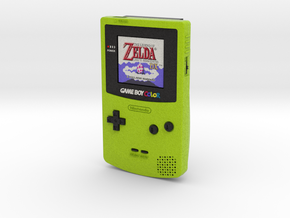 1:6 Nintendo Game Boy Color (Kiwi Zelda) in Full Color Sandstone