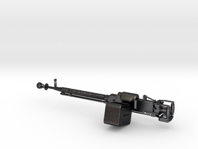 Russian DShK Machine gun 1:10 scale in Polished and Bronzed Black Steel
